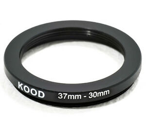 37mm  to 30mm 37-30  Stepping Ring Filter Ring Adapter Step Down