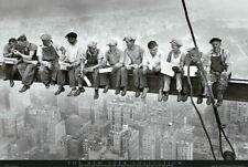 63207 New York : Men on Girder Wall Print POSTER AU
