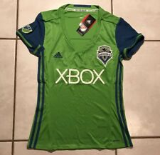 NWT ADIDAS Seattle Sounders FC MLS Home Jersey Women's Medium