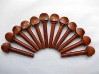 Oud Pegs Tamrind wood Swiss Models A quality 55/9/7 mm 12 pcs Lot best quality