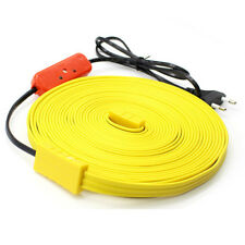New Heating Cable for Pipe freeze protection roof snow de-icing kit [220V, 10m]