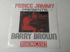 Barry Brown-Prince Jammy Presents Barry Brown Showcase Vinyl LP new sealed
