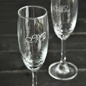 Wedding Glasses Sets Mr & Mrs Glasses Wedding Champagne Flute Anniversary Gift