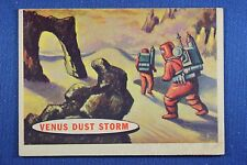 1957 Topps Space Cards - #71 Venus Dust Storm - VG/Excellent Condition