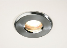 Wholesale Low Voltage 12V Bathroom Shower Recessed Down Light IP65 Nickel Clear