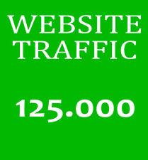 125.000 Besucher-Traffic - Bewerbung ihrer Website - Marketing und Promotion SEO
