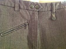 Vequicomfort Full Seat Breeches-Brown Houndstooth  26L EUC