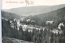 24272 AK Tal Bärenfels im Ost Erzgebirge Häuser Straße 1916