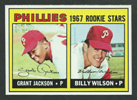 1967 Topps #402  GRANT JACKSON & BILLY WILSON Philadelphia Phillies HIGH GRADE
