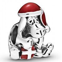 Disney Eeyore Christmas PANDORA Charm 925er Sterlingsilber 798449C01