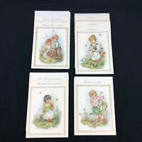 Vintage 8 Crestwick Greeting Cards Envelopes Unused West Germany Arts Crafts