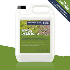 Stonecare4u Essential MOSS Killer 5L FAST & EASY for Roofs Drives Tarmac & Paths