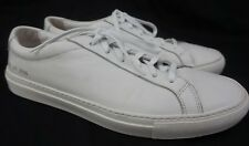 Common Projects Achilles Low White Leather Sneakers Size 43 EU/US 10