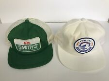 Vintage Trucker Patch Snapback Mesh Hat Cap Lot PUREGRO K Products SMITHS USA