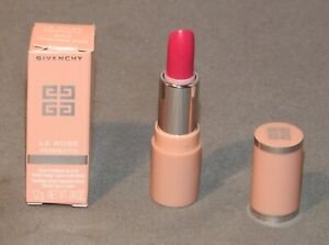 GIVENCY LE ROSE PERFECTO LIP BALM   FEARLESS PINK  DELUXE MINI SIZE 1.2g  BNIB