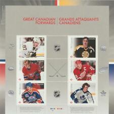 Canada 2016 Souvenir Sheet #2941 Great Canadian Forwards - MNH