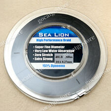 NEW Sea Lion 100% Dyneema  Spectra Braid Fishing Line 300M 40lb Black