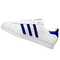 ADIDAS WOMENS Shoes Superstar - White & Blue - S74944