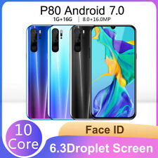 Quad Core 6.3 Inch 5.0MP 16G ROM GPS 3G Call Mobile Phone Smartphone Unlocked
