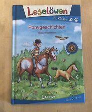 Kinderbuch, Ponygeschichten