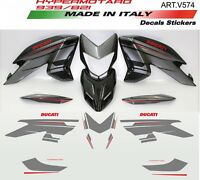 Kit adesivi per Ducati Hypermotard 821/939 Silver