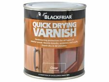 Blackfriar - Quick Drying Duratough Interior Varnish Clear Gloss 250ml