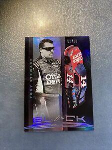 2021 Panini Chronicles Racing Nascar HOLO SILVER BLACK Card TONY STEWART 1/10