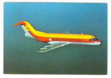 AVIACTION Airlines  Fokker F-28 Fellowship D-AHLA Postcard