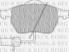 FRONT  BRAKE PADS FOR VW GENUINE OE BORG & BECK  BBP1447