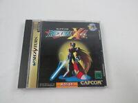 Rockman X 4 Segasaturn Japan Ver Sega Saturn