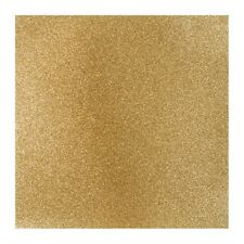 """KING'S CROWN (Gold) 12"""" x 12"""" Scrapbooking Paper GLITTER SILK CARDSTOCK 2 Sheets"""
