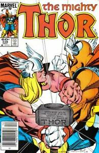 Thor #338 Dec 1983 Marvel Newsstand Comic Book (VF)