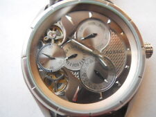 Fossil Twist Automatic men's leather dress analog & water resist watch.ME-1020