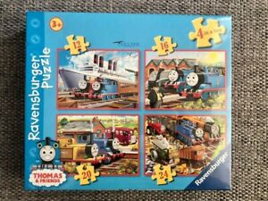 Thomas & friends Ravensburger Puzzle '4 in a box' *sealed new never used* Age 3+