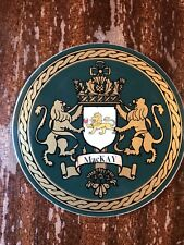 MacKay Drink Coaster Family Crest Coat Of Arms Shield Beer Bar Genealogy Cork