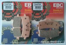 BMW HP4 (2013 to 2014) EBC Sintered FRONT Disc Brake Pads (FA447HH) (2 Sets)