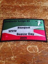 Seminole Lodge #85 2009 Banquet Beaver Day Oa Order of the Arrow 8-212