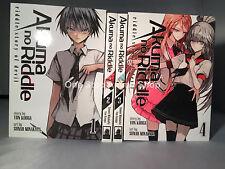 Akuma no Riddle brand new manga set volumes 1-4 paperback english graphic novel