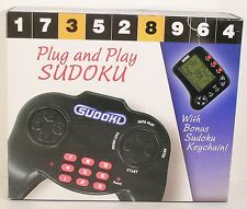 SUDOKU PLUG AND PLAY ELECTRONIC TV VIDEO GAME-WITH KEYCHAIN