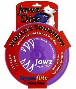 Hyperflex Hyperflite Jawz Dog Disc Puncture Resistant Dog Frisbee US Made Flyer