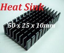 1 x Heatsink 50*25*10mm, Aluminum Heat-Sink for PCB Device LM2596, 2577, 2587