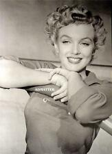 MARILYN MONROE PIN-UP POSTER AMAZING SMILE IN THIS SEXY CANDID PHOTO!