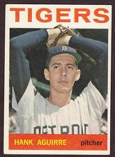 1964 TOPPS BASEBALL CARD #39 HANK AGUIRRE DETROIT TIGERS EX