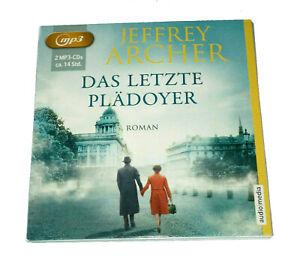 Hörbuch CD mp3 Das letzte Plädoyer Jeffrey Archer