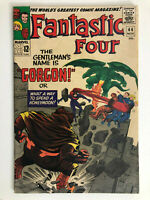 THE FANTASTIC FOUR (1965) #44 1ST APPEARANCE OF GORGON INHUMANS KIRBY STAN LEE