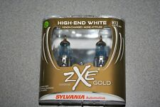 Sylvania Silverstar ZXE GOLD H13 Pair Set Headlight Bulbs Xenon Fueled NEW