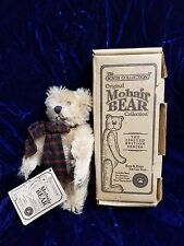 Limited Edition Boyd'S The Mohair Bear Madison W/Tags & Box Cert #10636