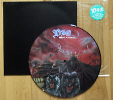 "EX/EX! DIO HEY ANGEL  12"" VINYL Picture Pic Disc + backing card!"