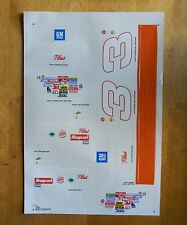 Dale Earnhardt Sr #3 Bass Pro GM Monte Carlo Decals~Set of 3~FREE SHIPPING