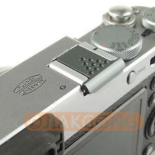 Graphite Silver Metal Universal Hot Shoe Cover for Canon Nikon Pentax Fuji